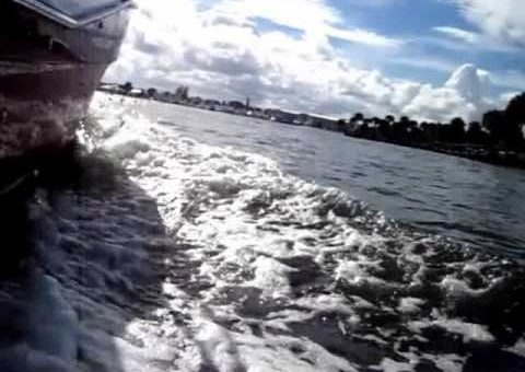 Sea Trial on a 2008 25' Ranger Tug - Suenos Azules Marine Surveying and Consulting