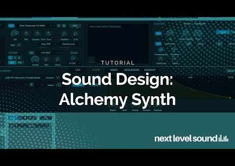 Sound Design: Alchemy Synth Tutorial - Anything from Everything in Alchemy