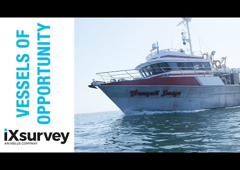 Choosing the Right Vessel // iXblue // Marine Survey Specialists