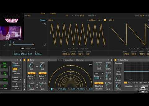 Ableton Live 10 Wavetable Sound Design Masterclass: Paul Nolan at Liverpool Audio Network