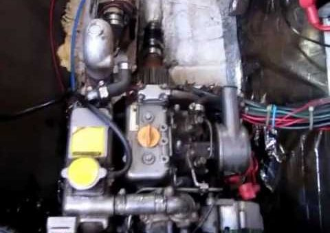 Loose Engine Mount on a Yanmar Diesel Engine - Suenos Azules Marine Surveying & Consulting