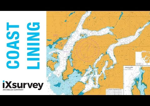 The Coast Lining Verification Process // iXblue // Marine Survey Specialists