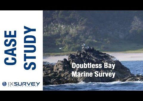 IXBLUE Australia Case Study // Doubtless Bay - New Zealand (Marine Survey)