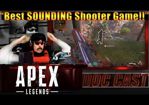 DrDisrespect IMPRESSED By The SOUND Design In Apex Legends!