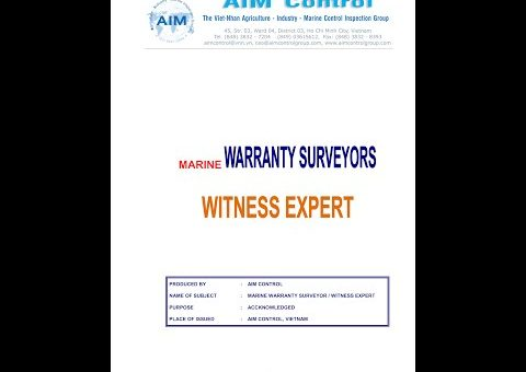 MARINE WARRANTY SURVEYORS COMPANY IN VIETNAM